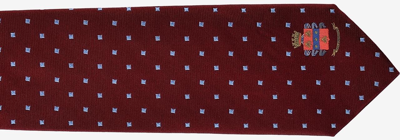 Cravatta personalizzata in seta