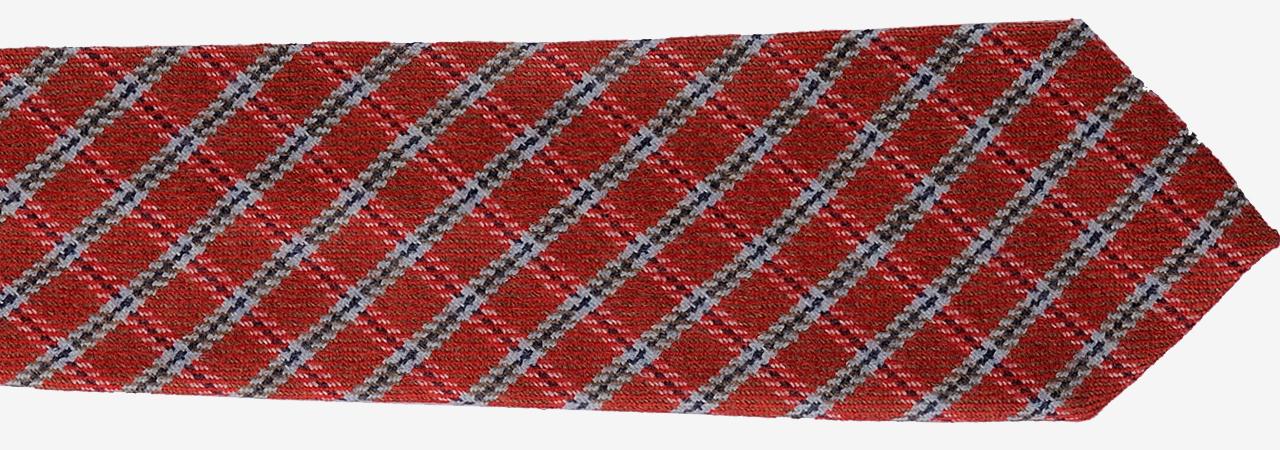 Cravatta personalizzata in lana