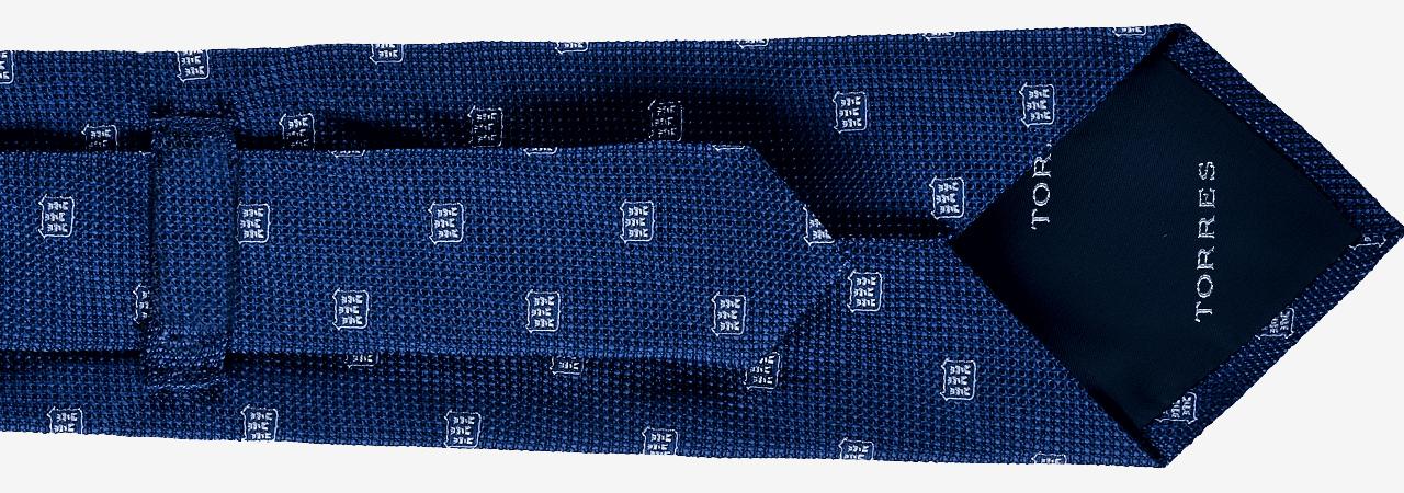 Personalizzazione del retro cravatta con fodera personalizzata